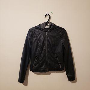 🦋Women Woman NEW LOOK Leather Jacket